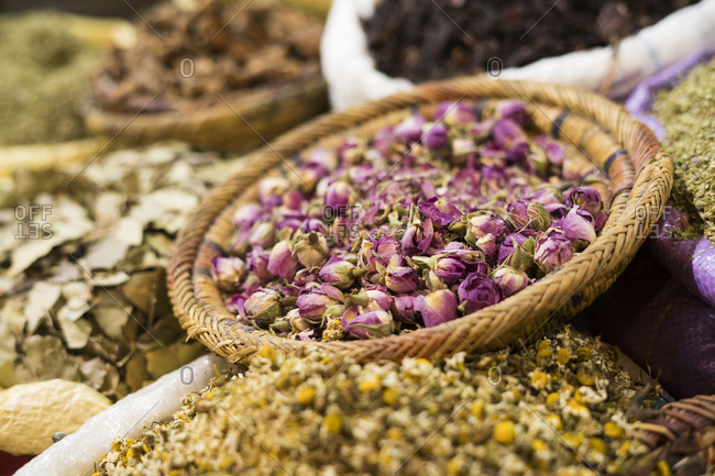 Morocco - Marrakesh - market stall