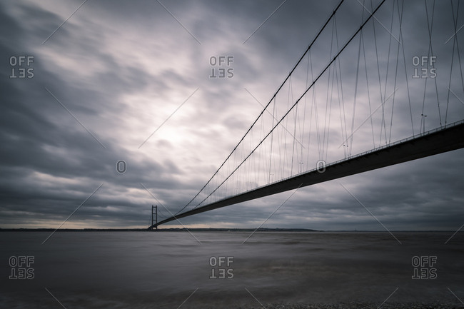 UK - England - Kingston upon Hull - Humber Bridge