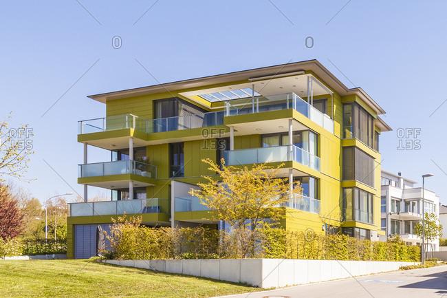 Modern multi - family houses