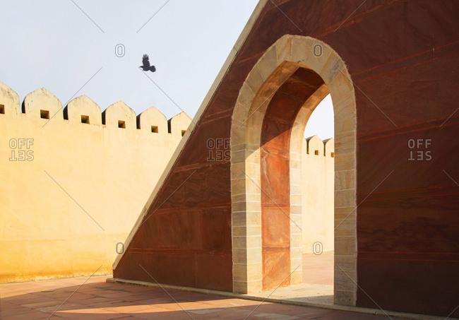 Jantar Mantar astronomy park, Jaipur, India