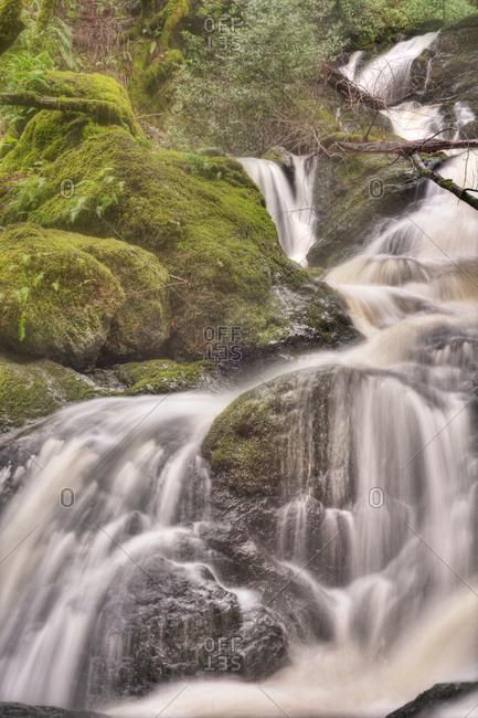 A small cascade in California