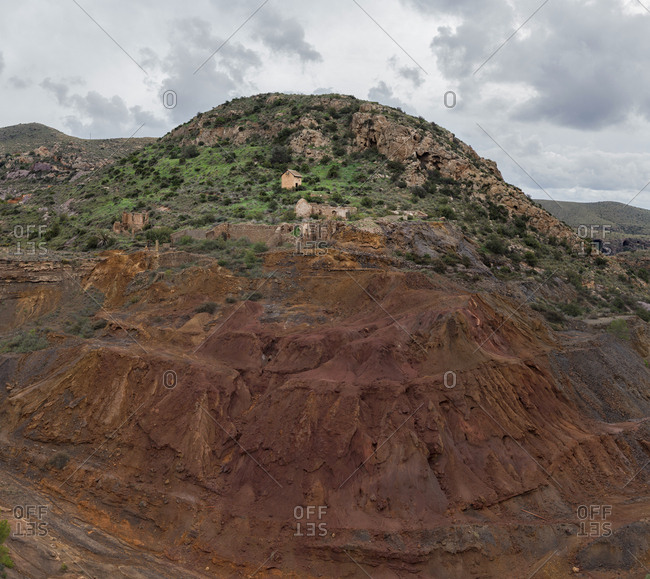 La Union, Abandoned Silver Mines, Murcia, Spain