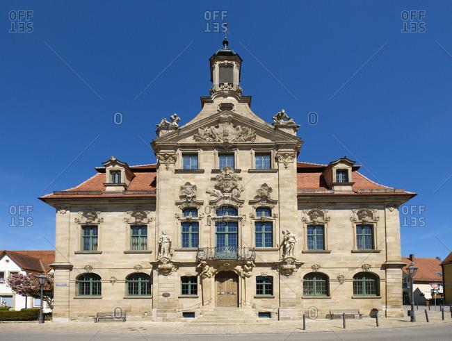 Ellingen, Germany - April 24, 2017: Ellingen- City hall