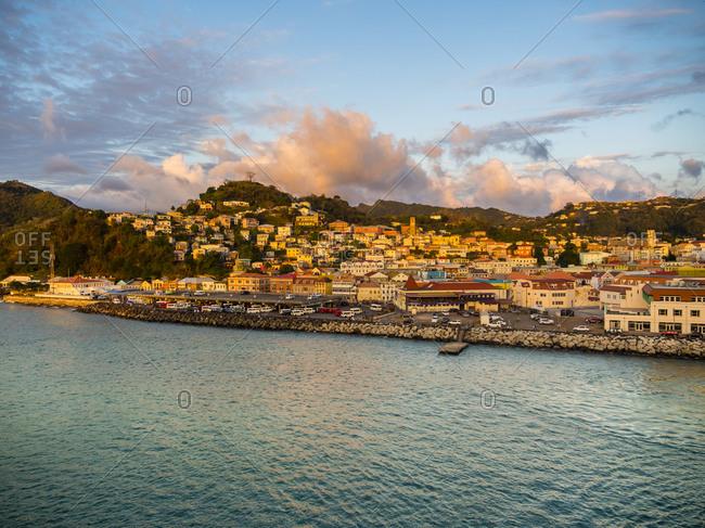 Caribbean- Lesser Antilles- Grenada- St. George's- harbor