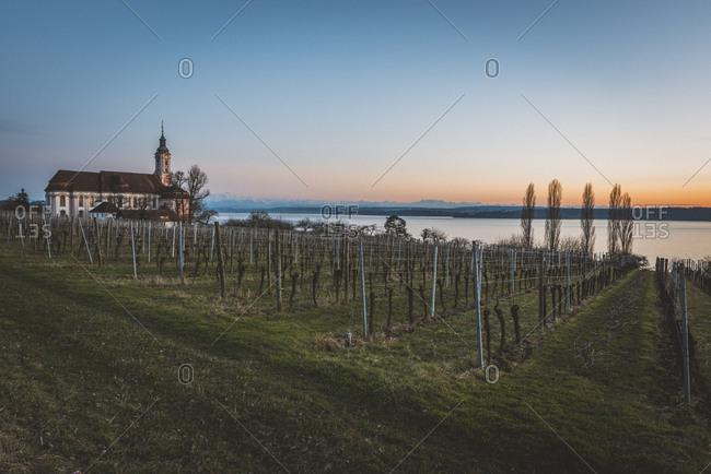Germany- Birnau- baroque church at Lake Constance