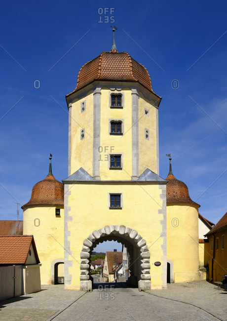 Germany- Central Franconia- Ellingen- Pleinfeld Gate