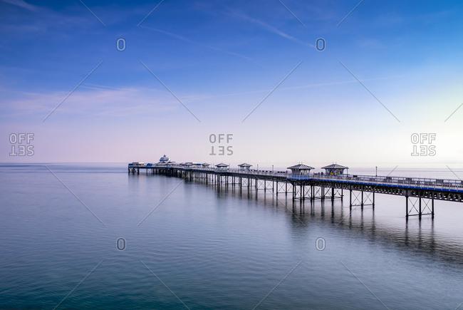UK- Wales- Llandudno- Llandudno Pier