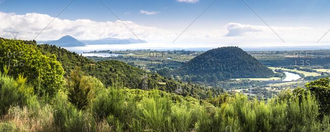 New Zealand- Taupo District- Lake Taupo
