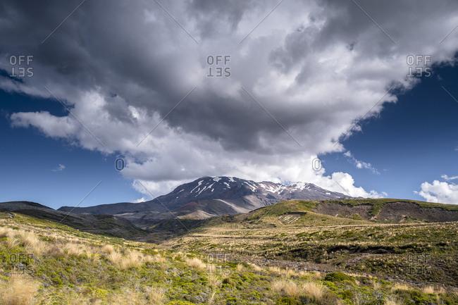 New Zealand- Ruapehu District- Tongariro National Park- Mount Ruapehu- Mount Te Heuheu
