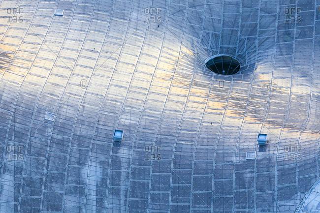 Germany- Bavaria- Munich- Glass roof