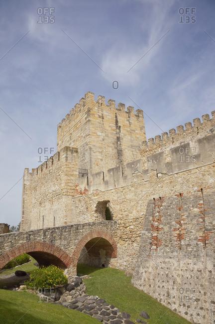 Portugal- Lisbon- Castelo de Sao Jorge