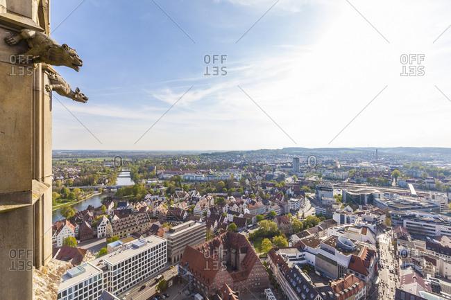 Germany- Ulm- cityscape seen from Ulmer Minster