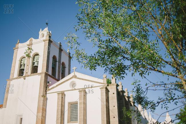 Church exterior in Arraiolos, Portugal