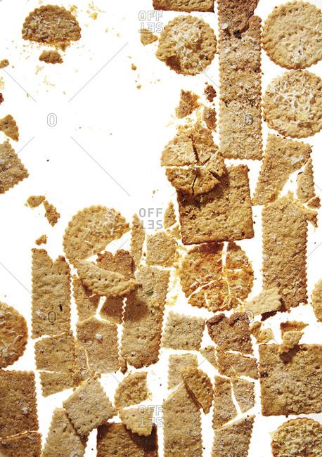 Variety of gluten free crackers