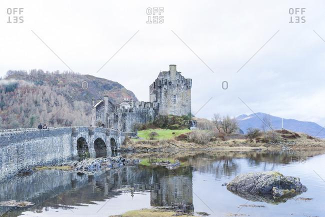 A view towards Eilean Donan Castle