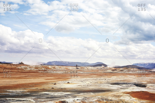 The�geothermal site of Namafjall, Iceland