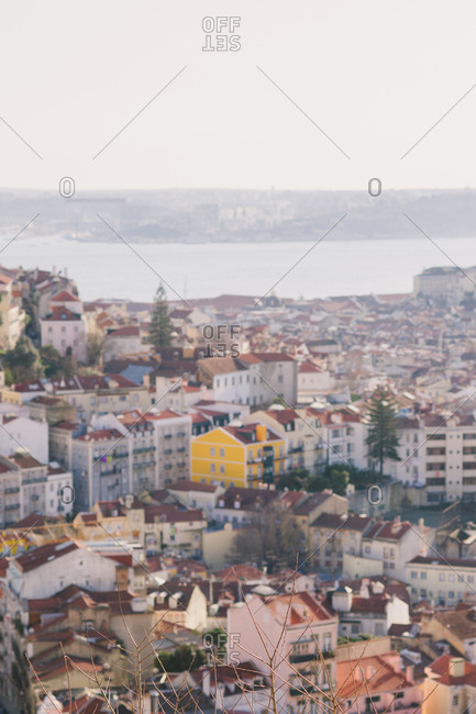 Cityscape over Lisbon, Portugal