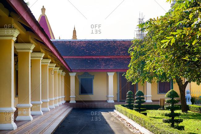Royal Palace gardens, Phnom Penh