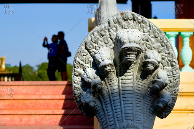 Tourist photographing - Royal Palace Phnom Penh