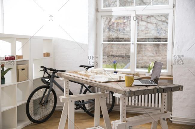 Interior of a modern informal office