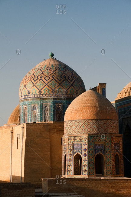Tombs at Shah-i-Zinda.