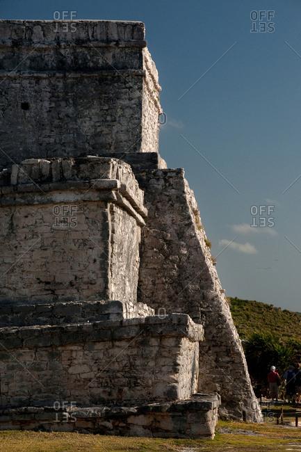 The Castillo at the Tulum ruins.