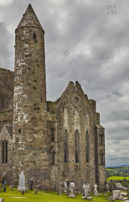 The ruins of the Rock of Cashel.