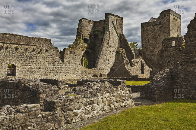 The ruins of Kells Priory.