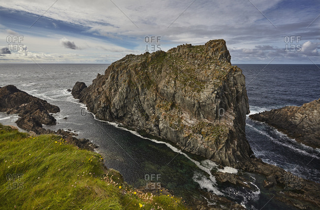 The Hell Hole at Malin Head in County Donegal.