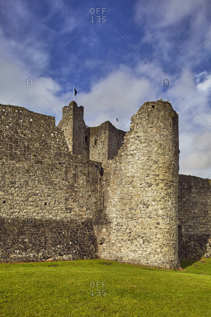 The ruins of Trim Castle in County Meath.