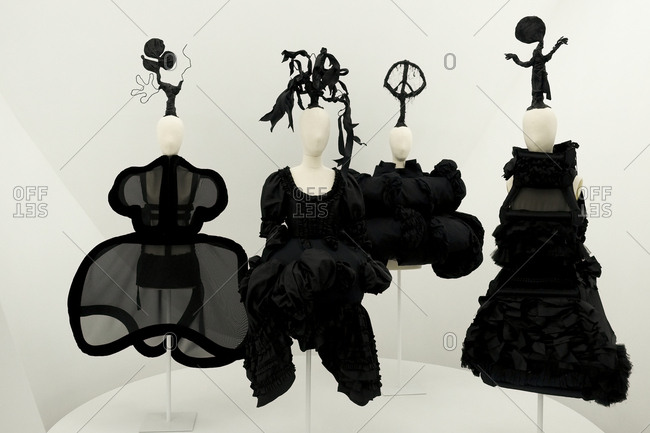 New York City June 8 2017 Display With Avant Garde Fashion Design Stock Photo Offset