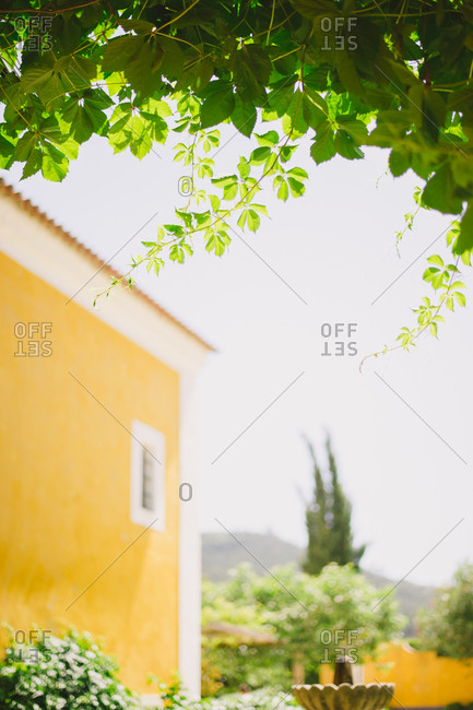 View of a villa in Portugal