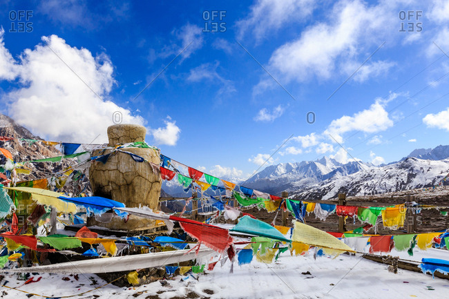 Landscape of Tibetan