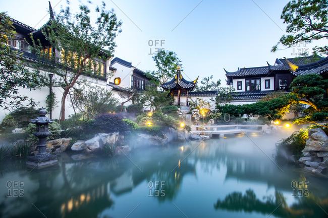 Suzhou gardens example room