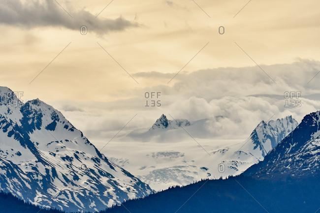 Mountain landscape, Kenai Peninsula, Alaska
