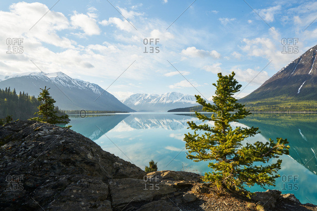 Idyllic landscape in Kenai Peninsula, Alaska