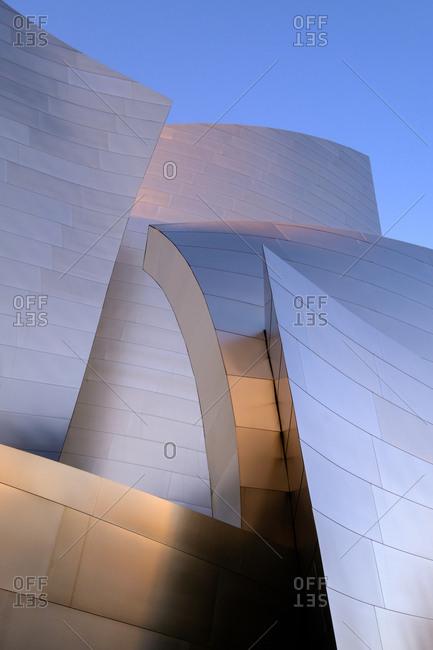 Los Angeles - December 28, 2016: Walt Disney Concert Hall, Los Angeles