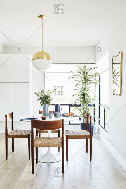 Dining area in modern home, Baltimore