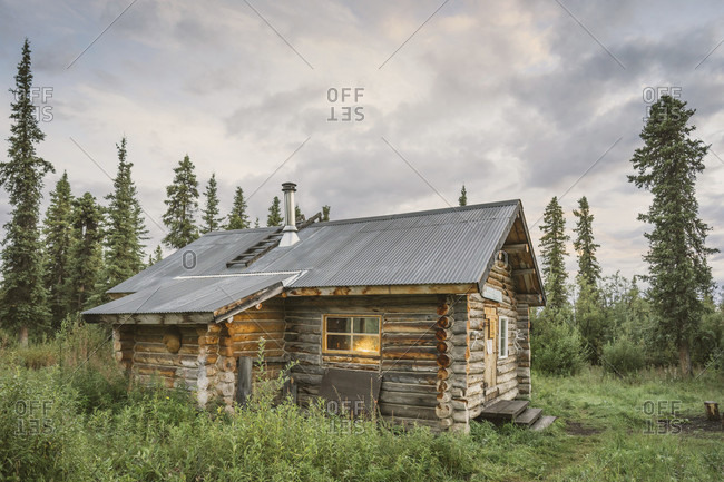 Viking Lodge, public use cabin, located in boreal forest