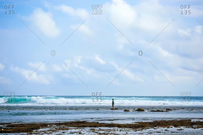 Ocean landscape, Lombok, Indonesia