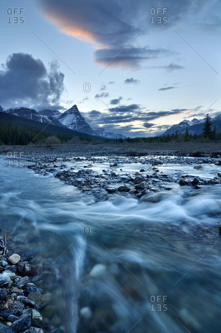 Silverhorn Creek, Banff National Park, Alberta, Canada