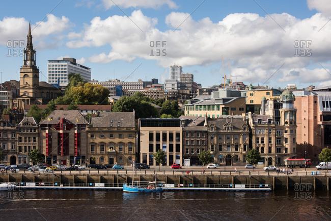 Newcastle upon Tyne, London - June 22, 2017: Live Works, Quayside