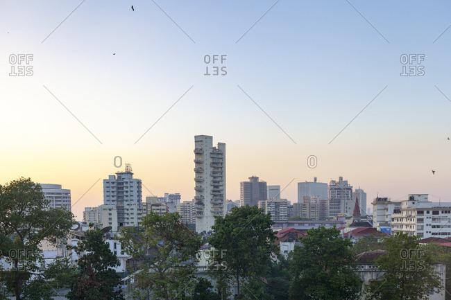Mumbai Skyline, Mumbai Maharashtra, India