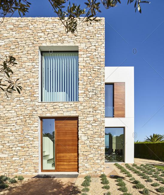 Exterior view of J&P House - White Houses, Lamella de Mar - Port Calafat, Spain