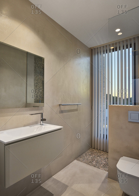 Interior view of J&P House - White Houses, Lamella de Mar - Port Calafat, Spain Bathroom