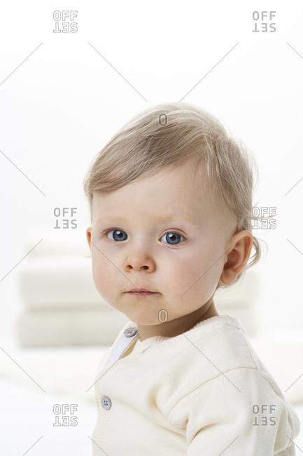 Portrait of toddler