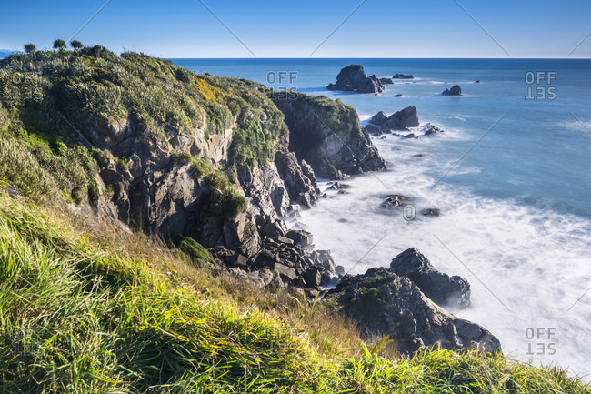 New Zealand- South Island- Westcoast- Tauranga Bay- Cape Foul wind