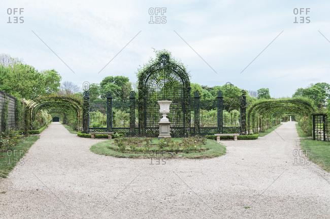 Park in Paris, France