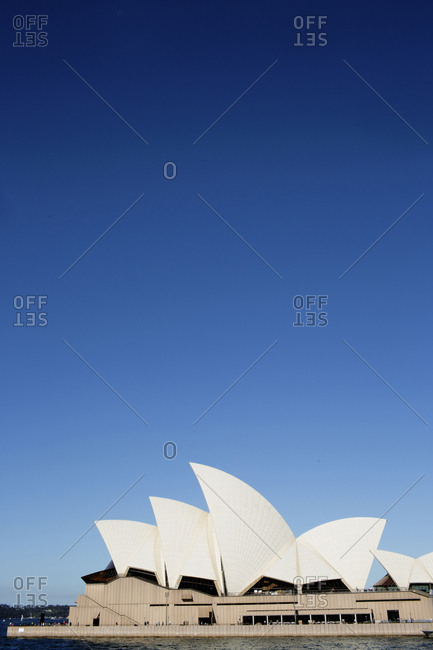 View of Sydney Opera House, Sydney Harbor, New South Wales, Australia, 2017