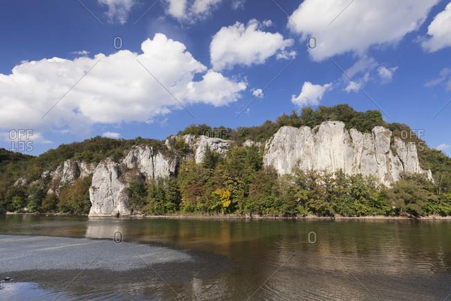 Donaudurchbruch, Danube River, near Kelheim, Bavaria, Germany, Europe